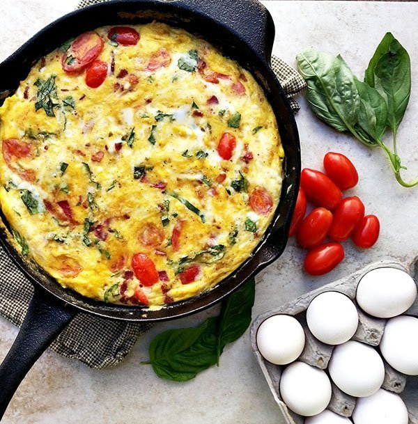 Sausage Basil And Tomato Frittata Recipes — Dishmaps