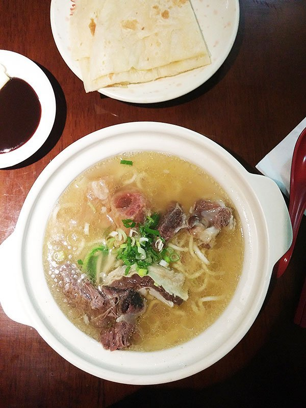 clear broth beef stew noodles