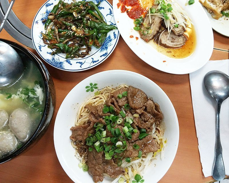 satay beef noodles